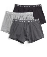 BOSS Three-Pack Stretch Boxer Shorts