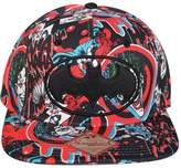 Bioworld Men's Licensed Batman - Joker Dark Comic Sublimated Snapback Hat O/S
