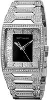 Wittnauer Mens WN3037 30mm Stainless Steel Silver Watch Bracelet
