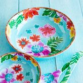 Sur La Table Tropical Melamine Serving Bowl