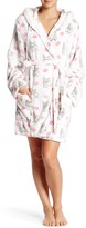 PJ Salvage Gift Kisses Faux Fur Trim Robe