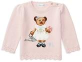 Ralph Lauren Infant Girls' Intarsia Bear Sweater - Baby