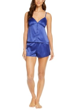 INC International Concepts Inc Button Cami & Shorts Pajama Set, Created for Macy's