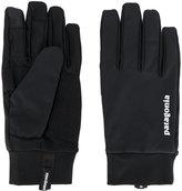 Patagonia logo print gloves