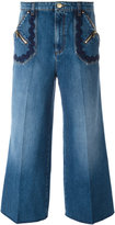 Sonia Rykiel wide-legged cropped jeans - women - Cotton/Lyocell - 36