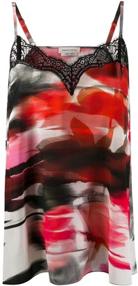 Alexander McQueen Abstract Print Camisole