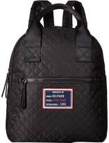 Tommy Hilfiger Nylon Patch Quilt Large Backpack Backpack Bags