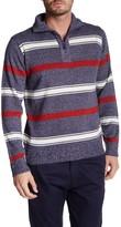 Yoki Quarter Zip Turtleneck Sweater