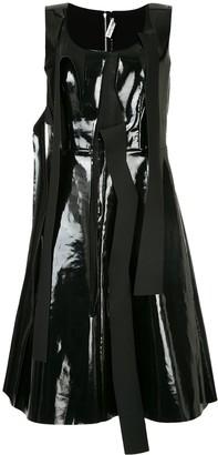 Comme Des Garçons Pre-Owned Pinafore Dress With Tear Detailing