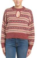 Somedays Lovin Keyhole Sweater.
