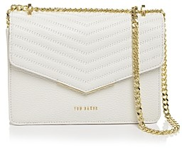 Ted Baker Bonitah Mini Quilted Leather Crossbody Envelope Bag