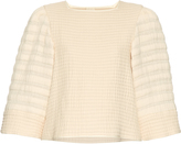 Isabel Marant Greg wide-sleeved quilted top