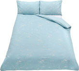 Jigsaw Bird Jacquard Double Duvet Cover