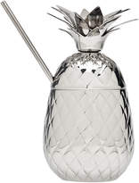 Godinger Pineapple Covered Stainless Steel Mug