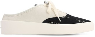 Fear Of God 101 Backless Logo Printed Sneakers