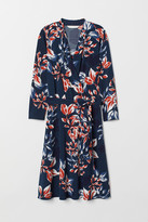 H&M MAMA Nursing Dress - Blue