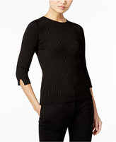 Catherine Malandrino Nessa Split-Sleeve Sweater