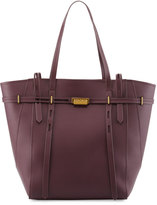 Zac Posen Eartha Belted North-South Shopper Bag