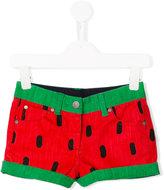 Stella McCartney watermelon shorts - kids - Cotton/Spandex/Elastane - 6 yrs