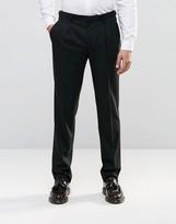 Asos Slim Morning Suit Pant In Black