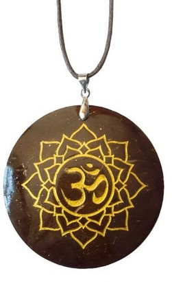 Saraswati Unisex No Metal Pendant Necklace - AM167