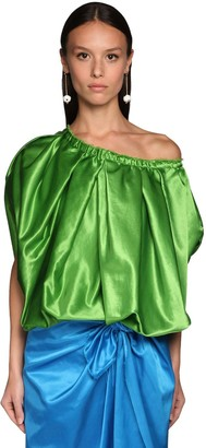 Marni Duchesse Off-The-Shoulder Top