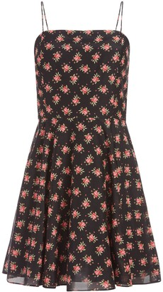 Alice + Olivia Glinda Floral Mini Dress