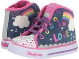 Skechers Twinkle Toes: Shuffles - Sparkle Skies 10874N Lights Girls Shoes