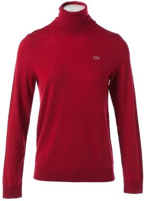Lacoste Red Wool Knitwear
