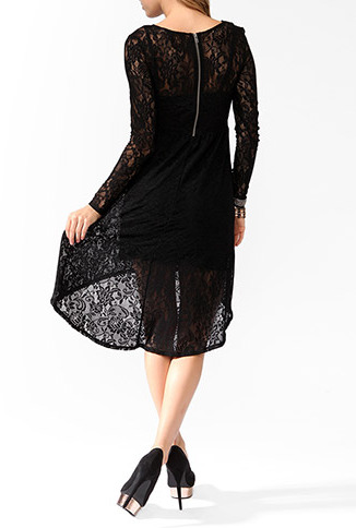 Forever 21 High-Low Lace Dress