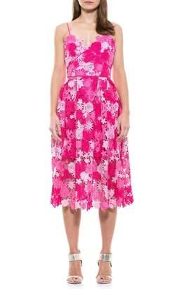 Alexia Admor Krissy Floral Crochet Lace Dress