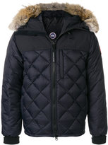 Canada Goose fur trim quilted jacket