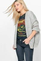 Boohoo Alisha Premium Oversized Slouchy Soft Knit Cardigan