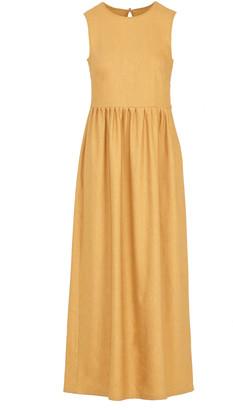 Giuliva Heritage The Filomena Linen-Wool Blend Dress