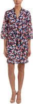 Draper James Silk-Blend Dress
