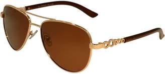 Alfred Sung 50MM Aviator Sunglasses
