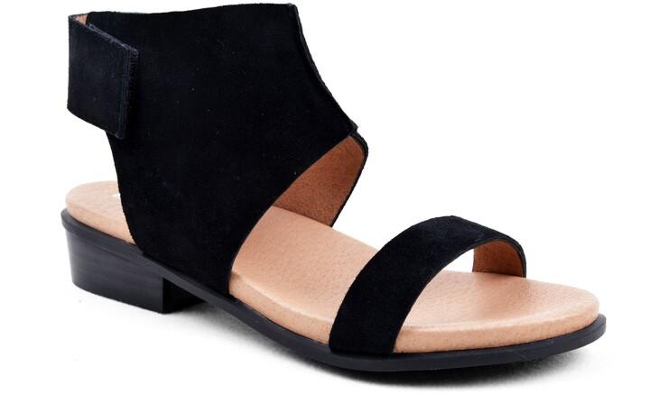 Details about  /NIB Bettye Muller Womens Sandy White Nappa Leather Kitten Heel Sandals $299 ABFB