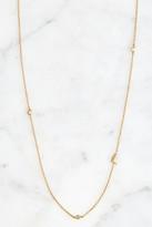 Tai Gold Alphabet Necklace L Gold