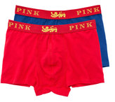 Thomas Pink Lions Stoddy Jersey Boxer Shorts - Pack Of 2