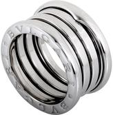 Bulgari Women's B.Zero1 18K White Gold 3-Band Ring