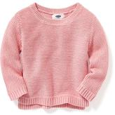 Old Navy Metallic-Stitch Sweater for Toddler