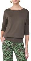 Akris Punto Women's Dolman Sleeve Wool Pullover