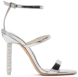Sophia Webster Silver Crystal Rosalind Heels