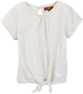 7 For All Mankind Tie Front Top (Little Girls)
