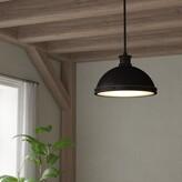 Laurèl Orchard Hill 2-Light Single Dome Pendant Foundry Modern Farmhouse Finish: Autumn Bronze