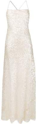 Galvan Paillette Dress