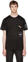 Lanvin Black Patchwork T-Shirt