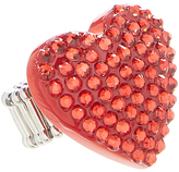 Carole Cherry Red Crystal Heart Ring