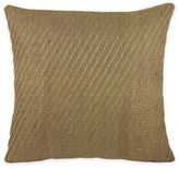 Rose Tree Durham Jute Square Throw Pillow in Coral