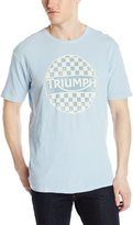 Lucky Brand Men's Triumph Checker Graphic Tee